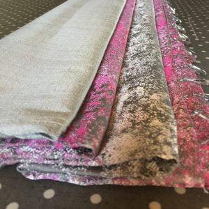 roman blinds pink velvet fabrics
