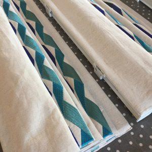 roman blinds different fabrics