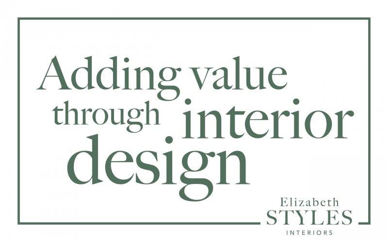 Increase the value through interior design
