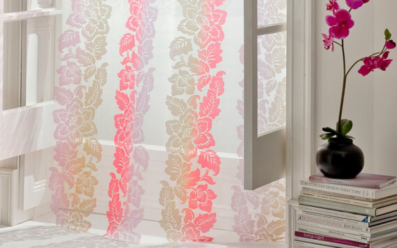 Made To Measure Voile Curtains Are Making A Comeback