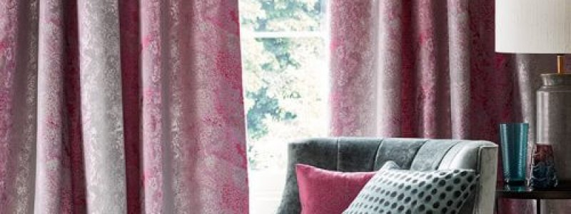 Curtains and a chair